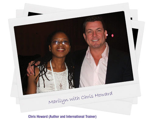 Marilyn with Chris Howard