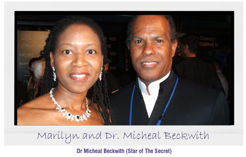 Marilyn with Micheal Beckwith