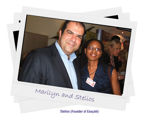 Marilyn with Stelios