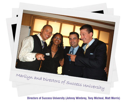 Marilyn with Directors of Success University
