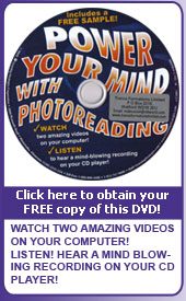 Free Photoreading DVD